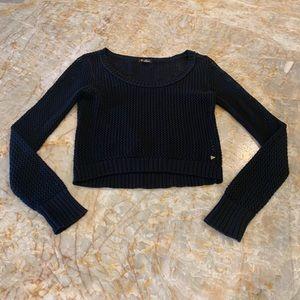 Guess black knit sweater
